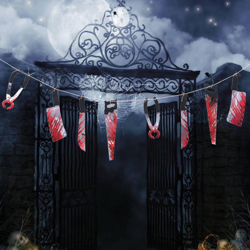 Horror Spooky Halloween Party Haunted House Hanging