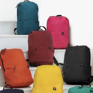 Image 4 - Original Xiaomi Mi Backpack 10L Bag 10 Colors 165g Urban Leisure Sports Chest Pack Bags Men Women Small Size Shoulder Unise