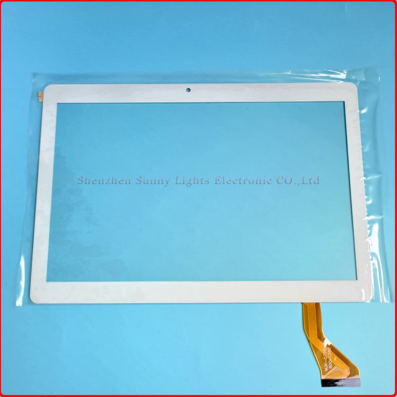 New For 10.1 inch MJK-0720 FPC capacitive touch screen tablet digitizer panel replacement free shipping запчасти для мобильных телефонов 7 inch new handwriting tablet capacitive touch screen screen screen number is sg5740a fpc v3 1 sg5740a fpc v3 1