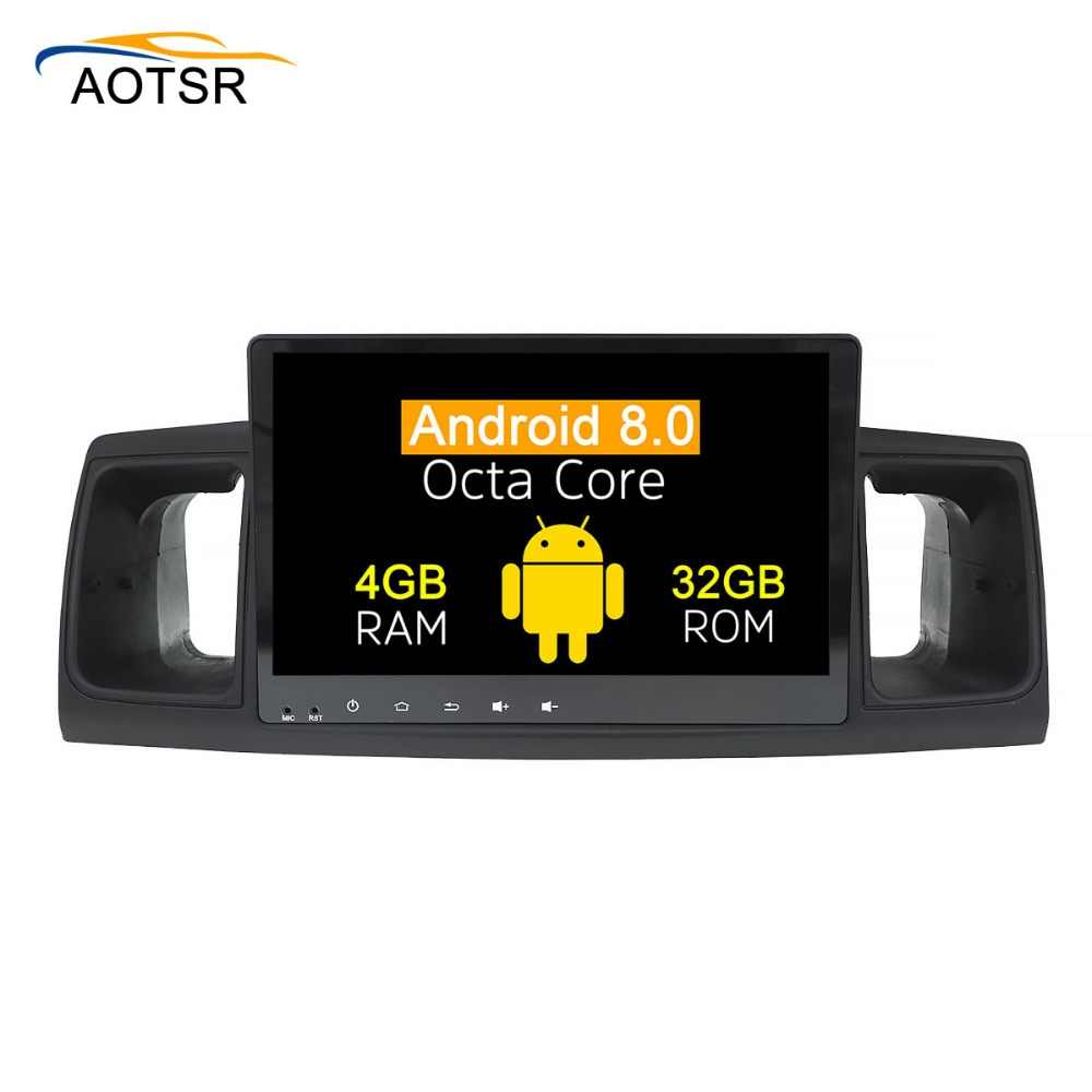 "10.1"" Android 8.0 Car GPS Radio Player head unit for Toyota Corolla 2001 - 2006 with Octa Core Auto Stereo Multimedia no dvd BT"