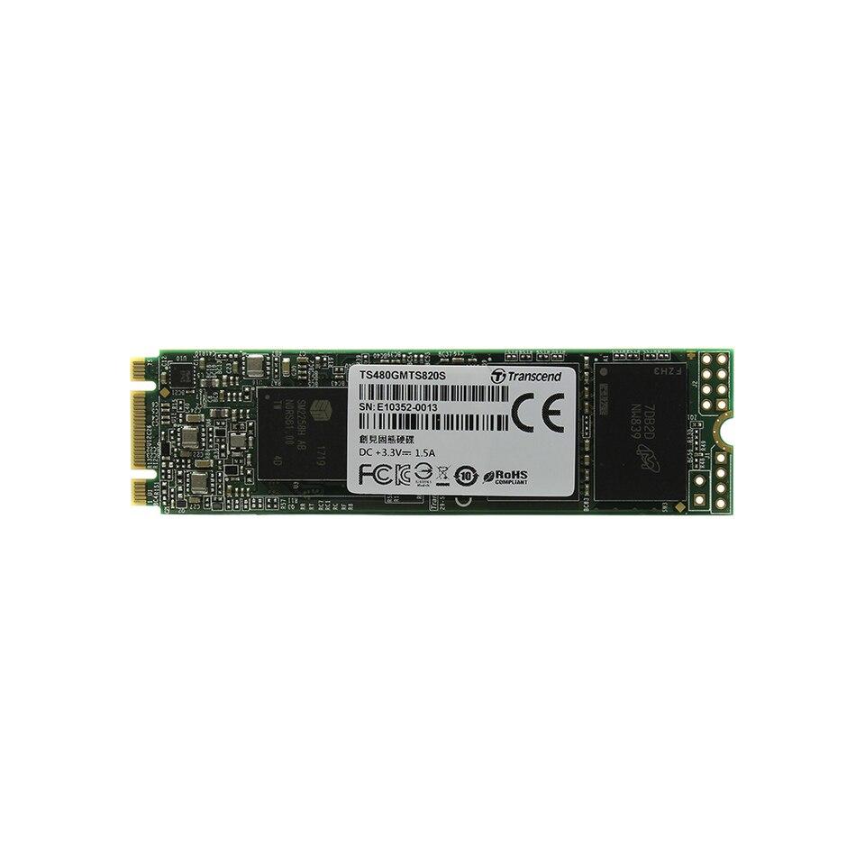 Купить со скидкой Внутренний жесткий диск SSD MTS820  Transcend TS480GMTS820S 480ГБ