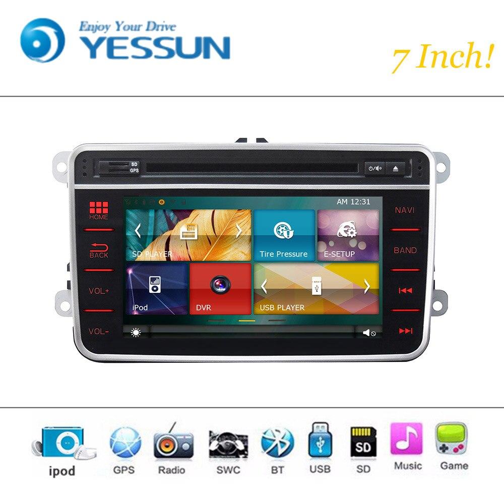 Lecteur DVD de voiture système de Wince Android pour VW polo jetta golf 5 golf 6 passat Radio stéréo GPS Navigation multimédia Audio vidéo