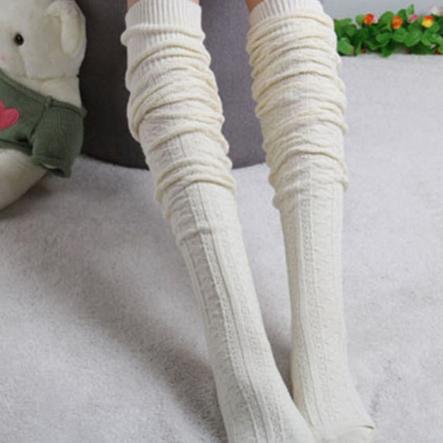 8 Colors Stocking Over Knee Stocking and Women Winter Knee