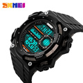 2017 Men Sports Watches SKMEI Men's Simple Design Digital Watch LED Outdoor Wristwatches Military Watches relogios masculinos