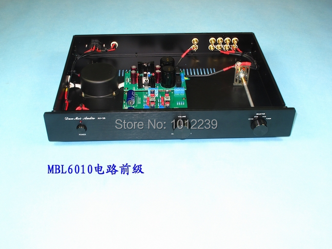 MBL6010 pre-amp circuit with four input/hi-end amplifier machine pre end шорты pre end