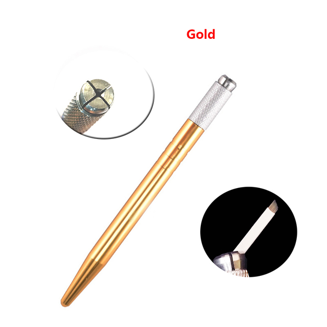 20pcs Microblading Pen Kit Caneta Tebori Perfect Wires Microblading Classic Manual Eyebrow Tattoo Gun 5