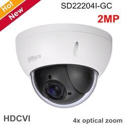Dahua kamera PTZ SD22204I-GC 2MP 1/2. 7 cmos 4x PTZ HDCVI kamery 2.7mm-11mm długość ogniskowej dla sportu na świeżym powietrzu kamera ip kamery bezpieczeństwa