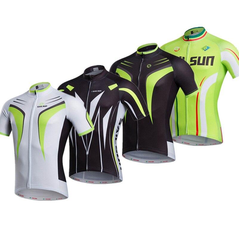 Prix pour 2016 vert rouge vélo clothing vélo jersey top hommes femmes sport vélo route jersey à manches courtes vélo usure à séchage rapide