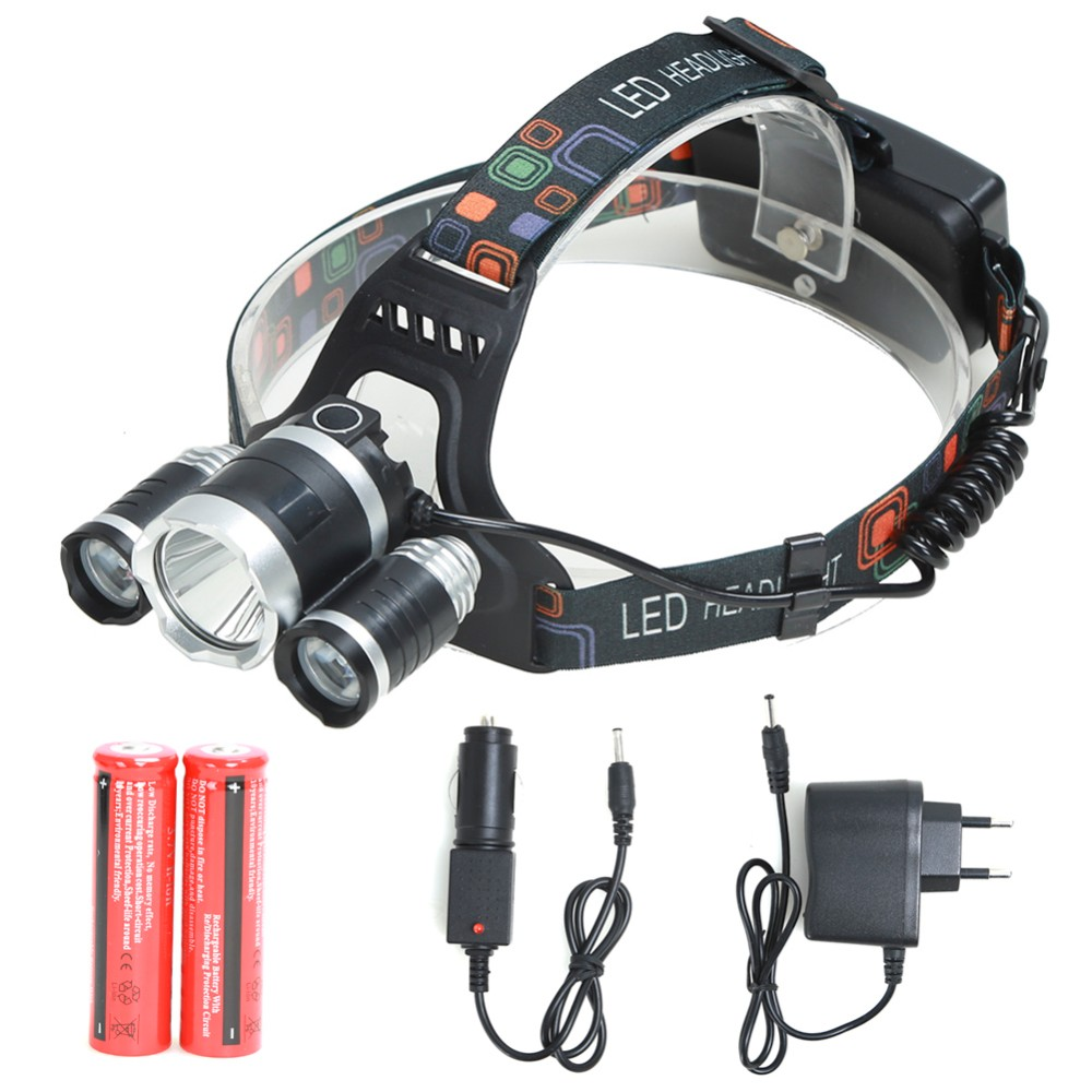 2000LM XM-L XML T6 LED Headlamp Headlight Flashlight Head Light Lamp Tor  In UK