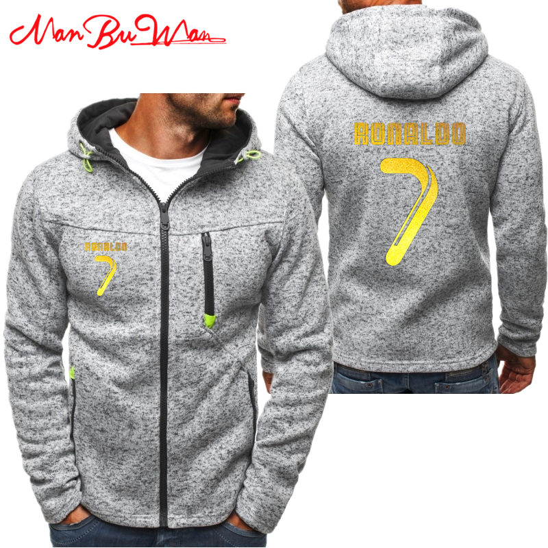 best sneakers d36be d9bc8 CR7 Cristiano Ronaldo Hoodies Men Fashion Personality Zipper ...