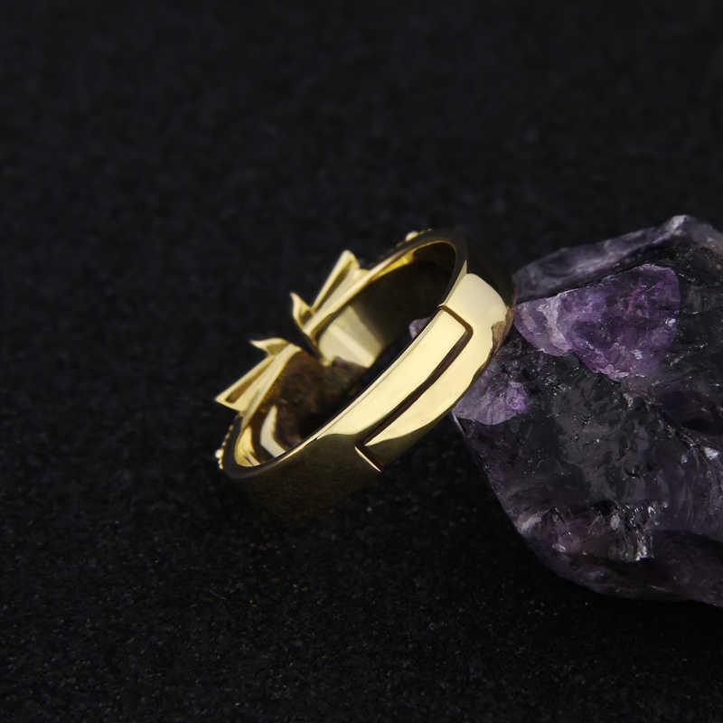 อะนิเมะใหม่ S925 Silver FAIRY TAIL Natsu Dragneel แหวนคอสเพลย์ Prop แหวนแหวนฮาโลวีนเครื่องประดับคริสต์มาสของขวัญ