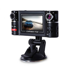 Carway F30 Automotive DVR 2.7″ TFT LCD HD 1080P Twin Digicam Rotated lens Automobile Driving Digital Video Recorder Evening Imaginative and prescient Camcorder