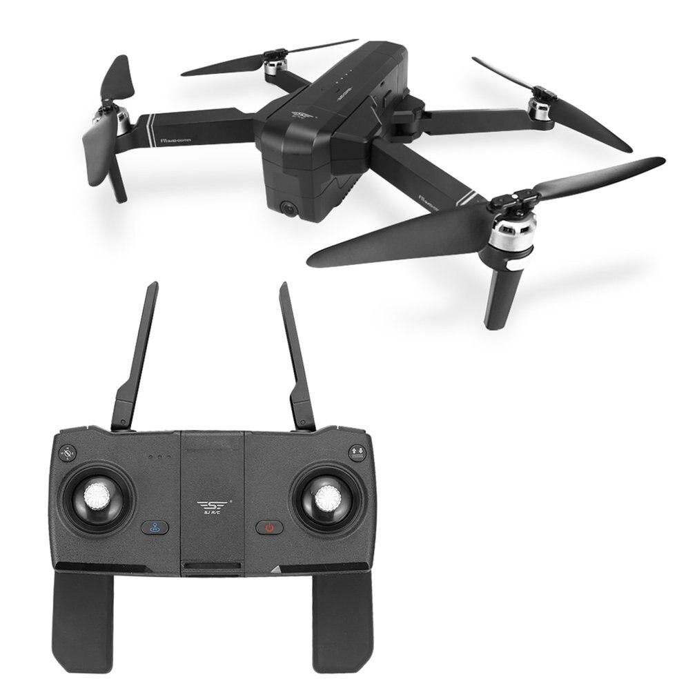 Новый мини-Дрон с камерой складной RC Дрон Квадрокоптер самолет бесщеточный мотор RC вертолет для детей