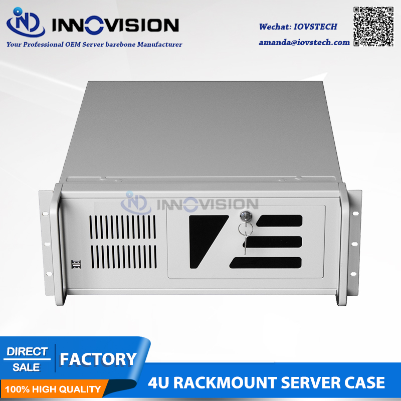High-stable Industrial computer case RC4U5012 4U rack mount chassis new 4u industrial computer case parkson 4u server computer case huntkey baisheng s400 4u standard computer case