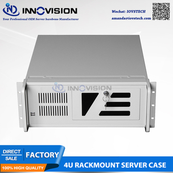 High-stable Industrial computer case RC4U5012 4U rack mount chassis