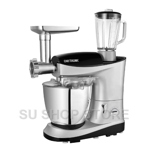 220V/1200W 7 In 1 Multifunction 7L Professional Dough Mixer Kitchen ...