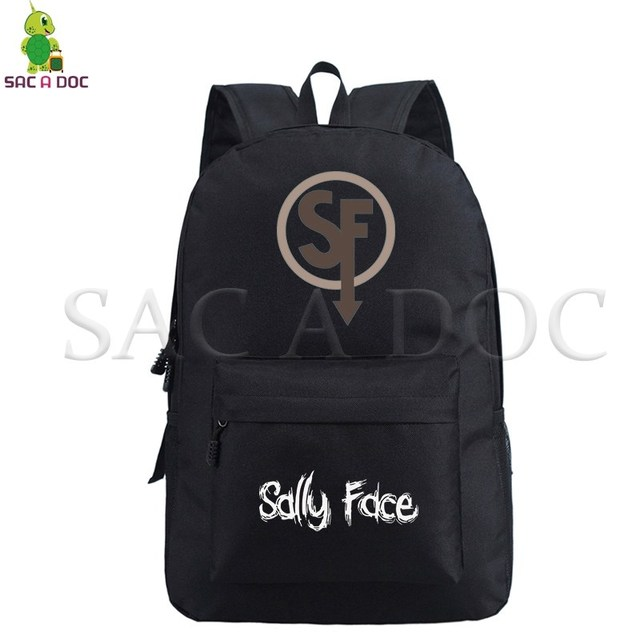 81b58170c740 sally face backpacks kids school bags teenagers printed backpack hip ...