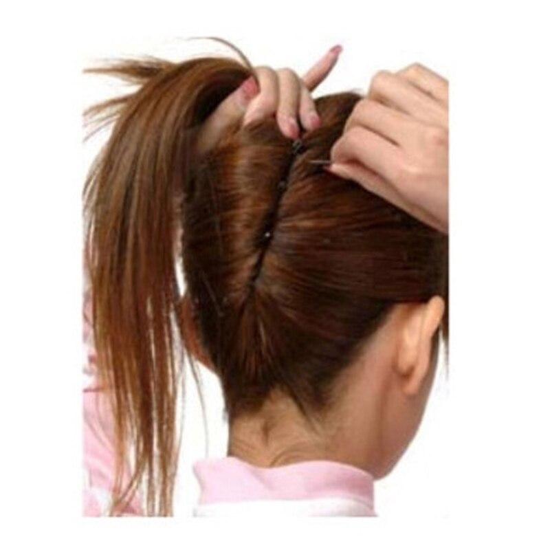 20pcs Black Metal Thin U Shape Hair Clips For Women Hairpins Hair