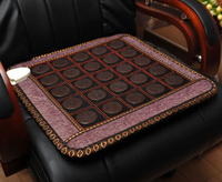 2017 most hot sales heated mat massage jade stone cushion Jade NEW heating massage cushion 45*45CM
