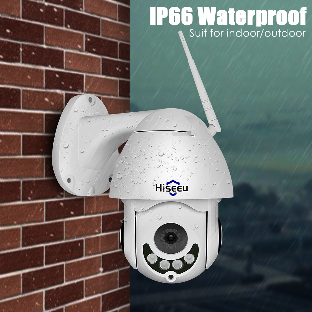 Hiseeu PTZ WIFI IP Dome Camera 1080P Outdoor Waterproof 2MP Security - Säkerhet och skydd - Foto 3
