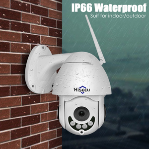 Image 3 - Hiseeu Ptz Wifi Ip Dome Camera 1080P Outdoor Waterdichte 2MP Security Speed Camera Tf Card Draadloze Ip Cam App view
