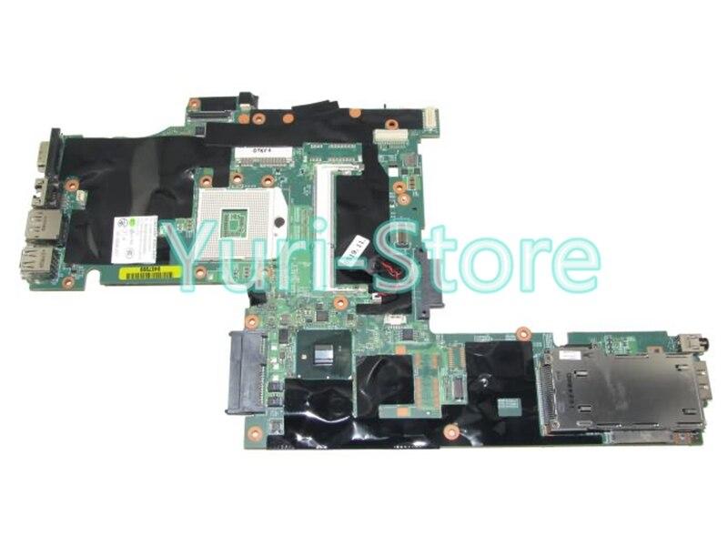 NOKOTION For Lenovo T410 Notebook 63Y1483 Laptop PC System board / Main board QM57 DDR3 100% tested 645386 001 laptop motherboard for hp dv7 6000 notebook pc system board main board ddr3 socket fs1 tested working