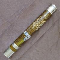 Wood water pipe tobacco tube bamboo hookah large smoking pipe wood hookah 65cm