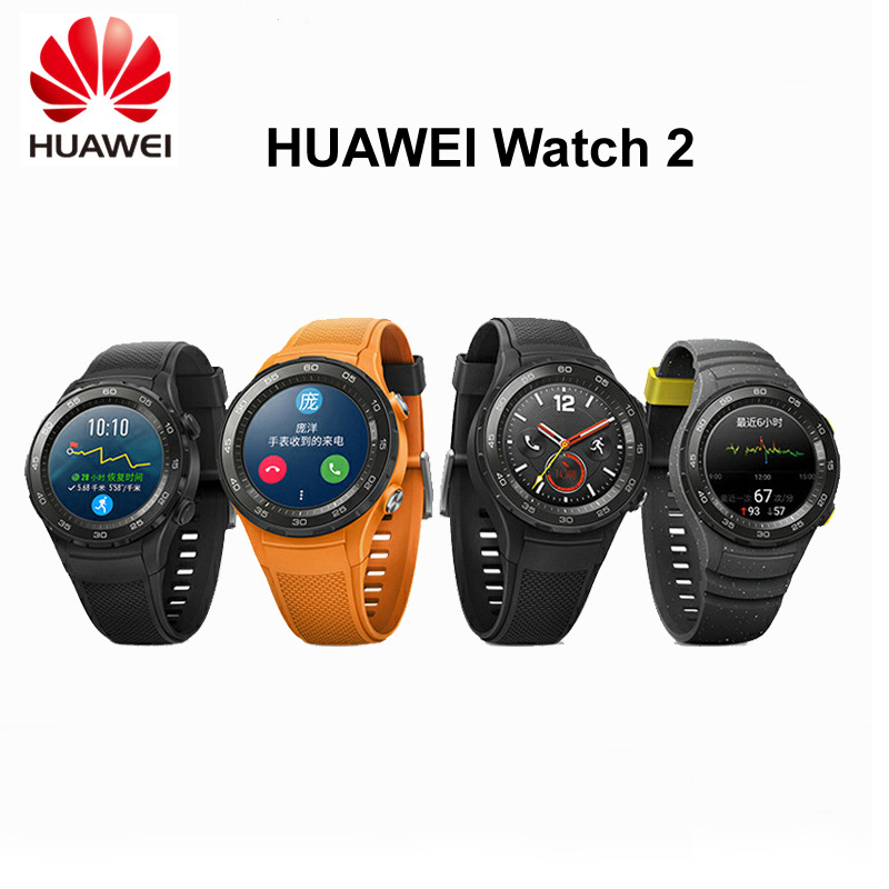 Original Global ROM Huawei Watch 2 LTE 4G Smart watch Heart Rate Sleep Fitness Tracker For