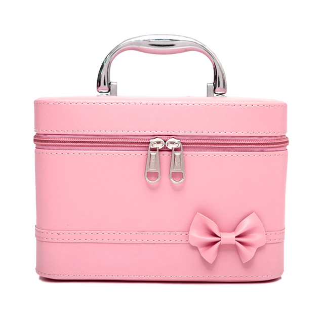New arrival large capacity cosmetic bag Korean makeup bag women handbag portable storage PU bag big travel bag