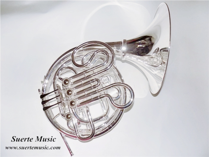Copy of CONN 8D F/Bb Brass French Horn Detachable Bell Double Row with Case and Mouthpiece Musical Instruments Professional silver plated double french horn f bb 4 key brand new with case