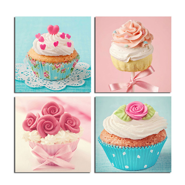 WEEN Cream Cake Wall Picture Canvas Pictures Wall decor