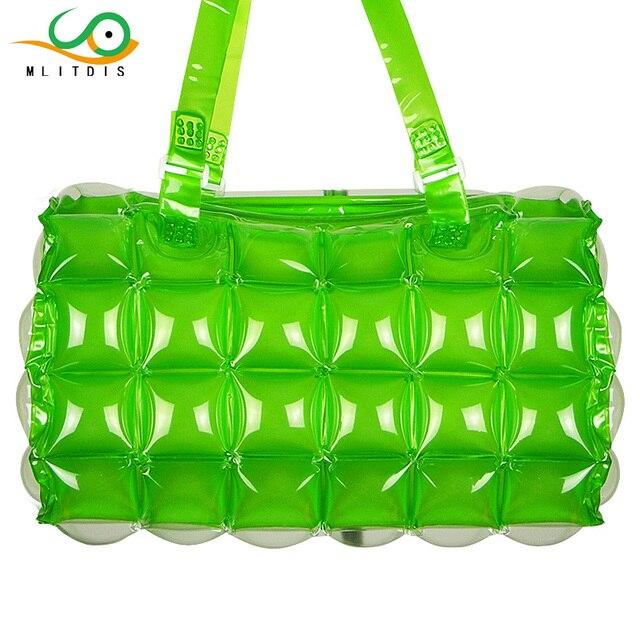 MLITDIS Inflated Women Bag Luxury Brand Ladies Bags Handbags PVC Waterproof  Beach Bags Women Summer Bag For Girls Travel Tote d79792edaada0