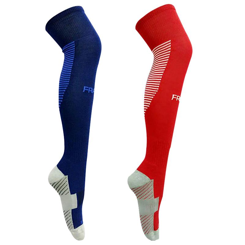 Home 1 Pair Of Football Stockings Anti-skid Cycling Socks Long Soccer Winter Thickened Cotton Leg Warmers For Adult Men&women Factories And Mines