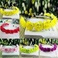 Crianças Meninas Do Bebê Floral Flor Headwear Headbands Coroa Grinalda Decoração Do Cabelo Hairbands BB75