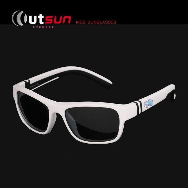 bce4a047138af Outsun 2017 crianças moda verão óculos de sol polarizados do vintage criança  bebê meninos meninas