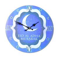Muslims and Islam density board Wood electronic wall Clock frameless paintings craft Home Decoration Clocks