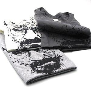Image 5 - COOLMIND 100% כותנה גברים breaking bad tshirt זכר קיץ loose מצחיק חולצה טי חולצה גברים אתה הדפסת הייזנברג t חולצה