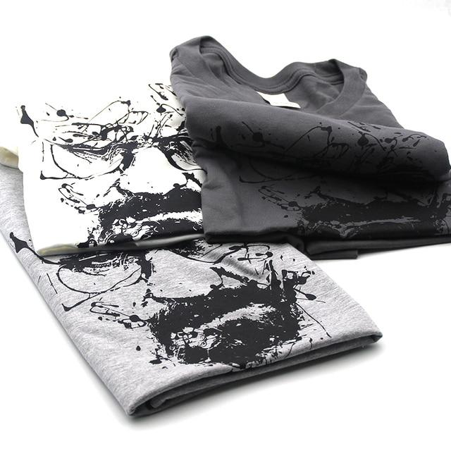 Top Quality Cotton heisenberg funny men t shirt casual short sleeve breaking bad print mens T-shirt Fashion cool T shirt for men 3