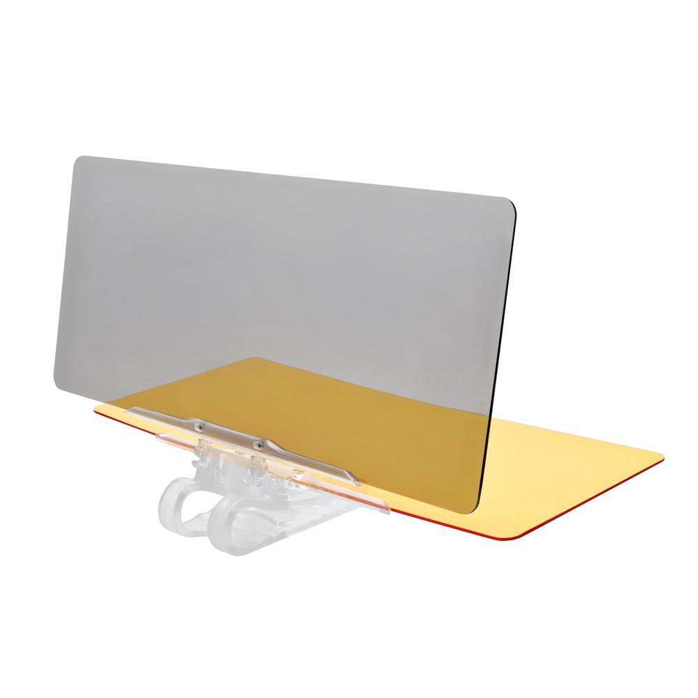 2 in 1 Day & Night Vision Car Sun Visor Anti Dazzling Mirror For Driver Driver Goggles Sunglasses Accessories Anti Glare Mirror