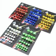 30 unidades/juego de accesorios para modificación de motocicleta, cubierta de tornillo de cabeza, piezas decorativas para Yamaha Kawasaki Honda, cubierta de estilismo para coche