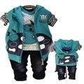 Envío gratis baby boy Spring Valley postura Anlencool párrafo cola larga términos Tong bebés baby body ropa de bebé