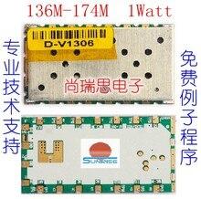 SR_FRS_1WV (1 W/136 M-174 M) interfone sem fio de Voz de Transmissão de Dados Módulo/Módulo Transceptor Sem Fio