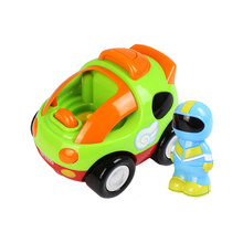 RC Cars Cartoon Race Car with Music and Lights Electric Radio Control Toy for Children Baby Toddlers Kids Gifts(China)