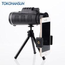 TOKOHANSUN Universal 40X Optical Zoom Telescope Telephoto Mobile Phone Camera Lens For iPhone 6S Samsung Smartphones lenses