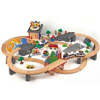 T homas и друг деревянная Brio парковка для игрушечных паровозов Волшебная магнитная железная дорога мост станция модель аксессуары игрушки для