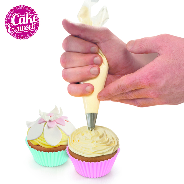 20pcs Set Disposable Pastry Bag Icing Piping Cake Cupcake Decorating Bags 16 Inch