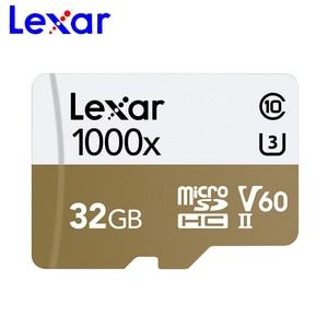 Image 2 - Lexar 2019 nuevo Micro SD 150 MB/S 1000x Clase 10 32GB 64GB micro SDXC de 128GB tarjeta de memoria TF lector UHS para Drone videocámara deporte