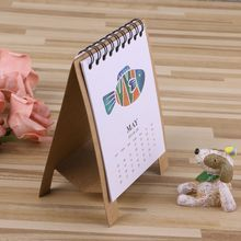 2019 Cute Cartoon Desktop Paper Calendar Multi-function Timetable Plan Notebook