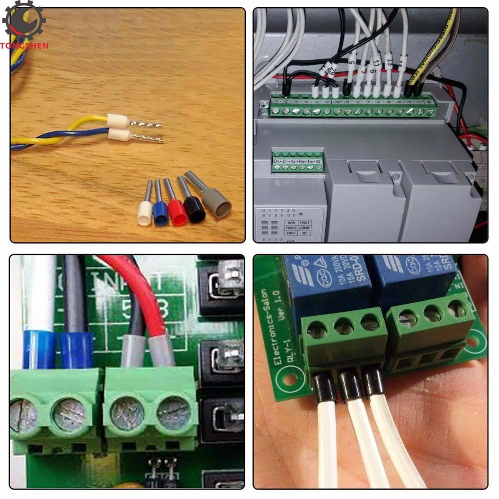 Ferrule Crimper Plier Crimp Tool with 800pcs Cable Wire Terminal Connectors CAO