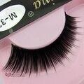 2017 NEW Fashion Frizzle 10 Pairs Makeup Natural Soft Long Thick False Eyelashes Black Eye Lashes M32 Full Strip Lashes lash eye